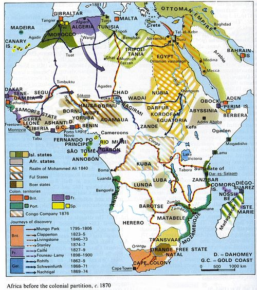 Africa before colonial partition